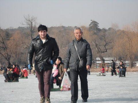 Luke during Chinese Gap Year