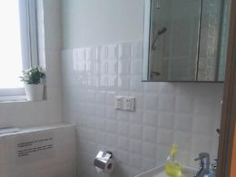 Bathroom in an Apartment
