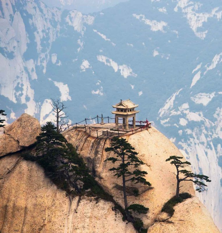 Huashan - One of China's most famous spots
