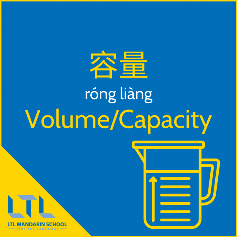 Measurements in Chinese - Volume