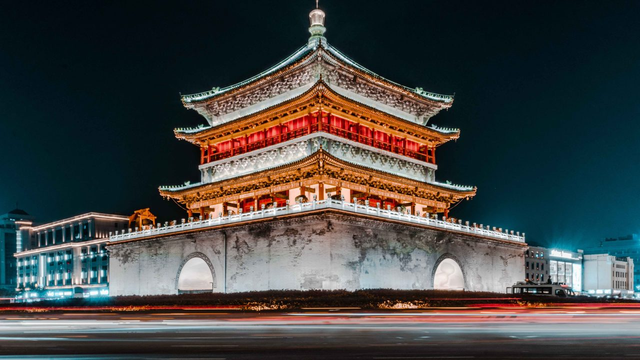 things to do in xian - bell tower